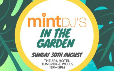 Mint DJ's in The Spa Garden